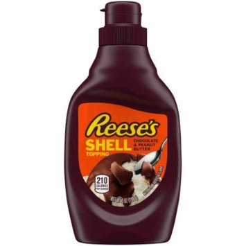 REESE'S Chocolate & Peanut Butter Shell Topping (Pack of 18)