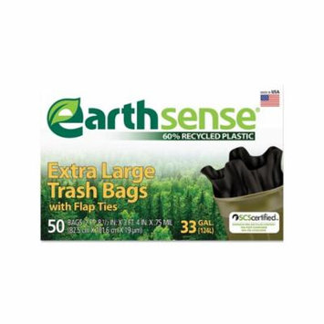 An Item of EarthSense 33 gal. Recycled Trash Bags (50 ct.) - Pack of 1 [Bulk Qty Discount Coupon : Christo]