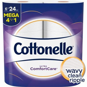 Cottonelle Ultra Comfort Care, 6 Mega Rolls, Toilet Paper