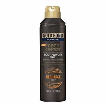 Gold Bond Ultimate Mens Essentials Powder Spray Recharge Scent 7 oz each