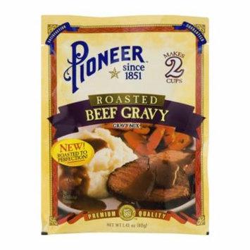 (4 Pack) Pioneer Roasted Beef Gravy Mix, 1.41 OZ