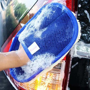 DZT1968 Car Wash Clean Sponge Brush Glass Cleaner Blue Wave Car Wash