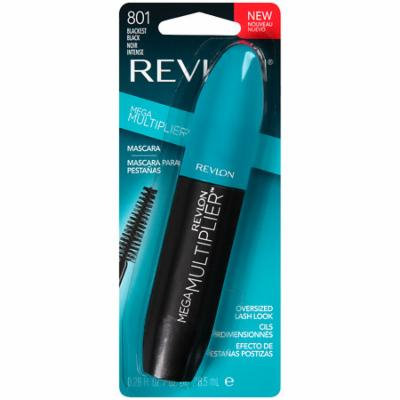 Revlon Mega Multiplier Mascara Blackest Black, 0.28 fl oz (Pack of 20)