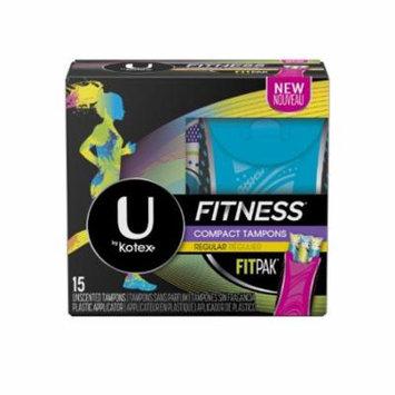 U by Kotex® Fitness Tampons Regular