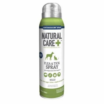Natural Care Flea & Tick Spray for Dogs & Cats, 6 oz.
