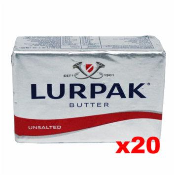Lurpak Danish Unsalted Butter (CASE) (20 x 8 oz)