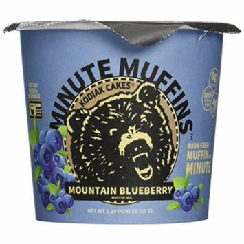 Kodiak Blueberry Minute Muffin (Pack of 12)