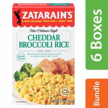 (6 Pack) Zatarain's Cheddar Broccoli Rice, 5.7 oz