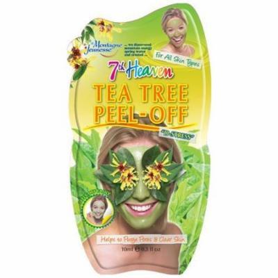 7th Heaven Face Tea Tree Peel Off Mask Minimises & Refines Pores 1 Each
