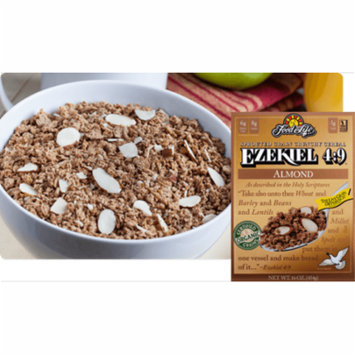 Food For Life, Ezekiel 4:9, Almond Sprouted Flourless Flake Cereal - Pack of 6