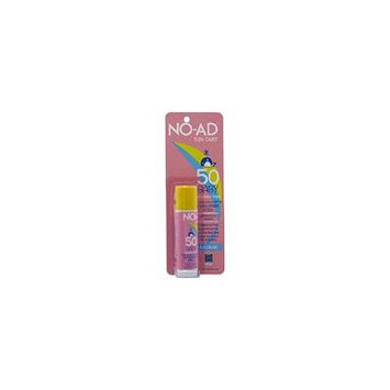 NO-AD Sun Care Baby Sunscreen Stick SPF 50 0.65oz Each