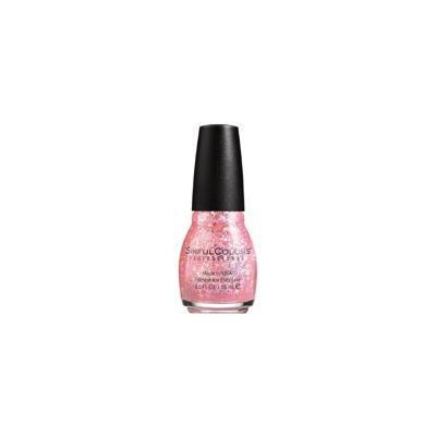 SinfulColors Nail Polish, Pinky Glitter (Pack of 2)