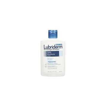 Lubriderm Daily Moisture Lotion Fragrance Free 6oz Each