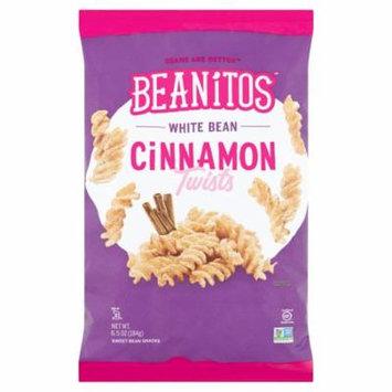 Beanitos Cinnamon Twists White Sweet Bean Snacks, 6.5 oz