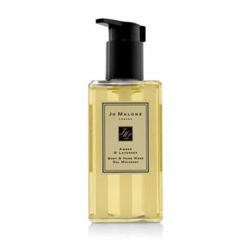 Amber & Lavender Body & Hand Wash (With Pump)-250ml/8.5oz