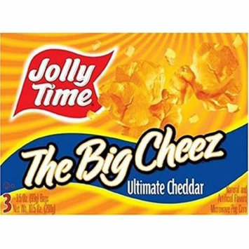 Jolly Time: The Big Cheese Microwave Popcorn (Pack of 24)