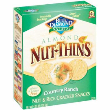 (2 Pack) Nut Thins Crackers, Country Ranch, 4.25 oz box