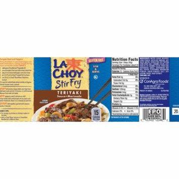(3 Pack) La Choy Teriyaki Stir Fry Sauce and Marinade, 13.75 Ounce
