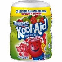 (6 Pack) Kool-Aid Sugar-Sweetened Strawberry Kiwi Powdered Soft Drink, 4 - 19 oz Jars
