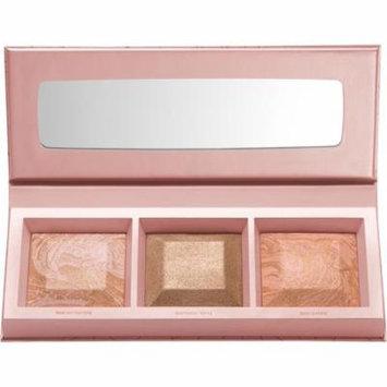 2 Pack - BareMinerals Crystalline Glow Bronzer & Highlighter Palette .26 oz