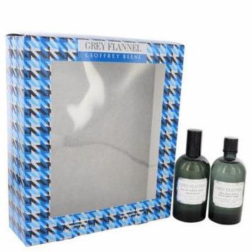 GREY FLANNEL by Geoffrey Beene Gift Set -- 4oz Eau De Toilette + 4oz After Shave