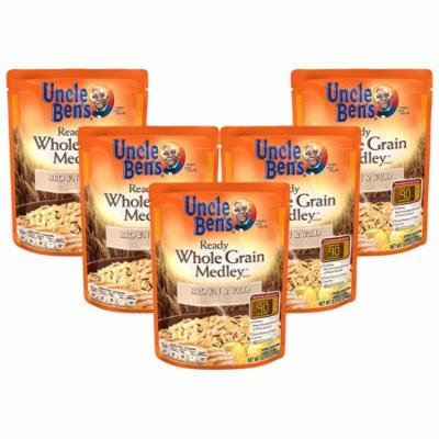(5 Pack) UNCLE BEN'S Ready Whole Grain Medley: Brown & Wild, 8.5 oz