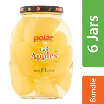 (6 Pack) MW Polar Fuji Apples in Light Syrup, 19.5 oz