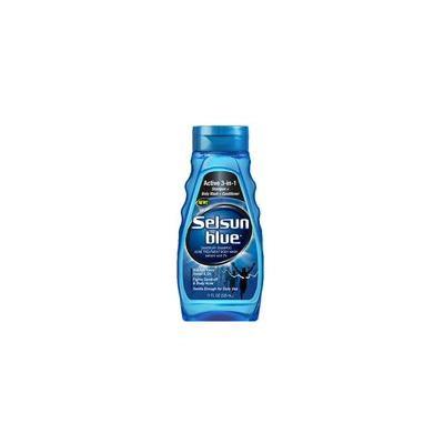 Selsun Blue 3-in-1 Body Wash, Shampoo & Conditioner, for Dandruff & Acne, 11 Oz