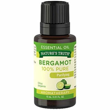 Natures Truth Aromatherapy 100% Pure Bergamot Essential Oil 0.51oz Each