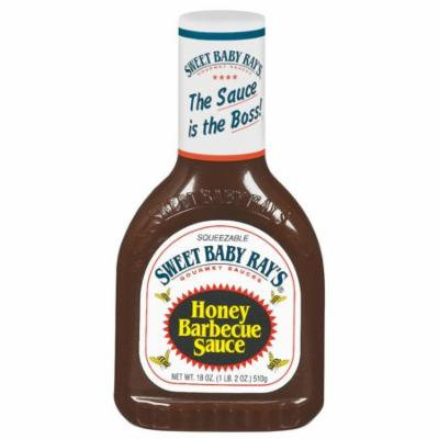 (3 Pack) Sweet Baby Ray's Honey Barbecue Sauce, 18 oz