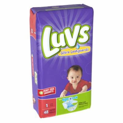 Luvs with Ultra Leakguards (Pack of 12)
