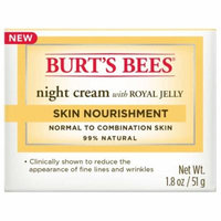 Burt's Bees Skin Nourishment Night Cream, 1.8 oz (Pack of 10)