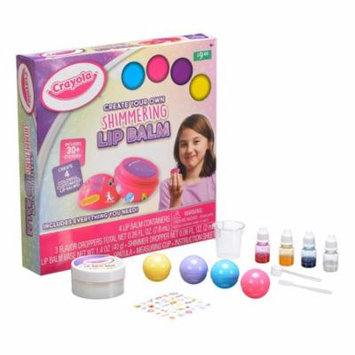 Crayola Create Your Own Shimmering Lip Balm Activity Kit