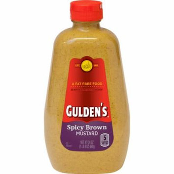 (3 Pack) Gulden's Spicy Brown Mustard, 24 oz.