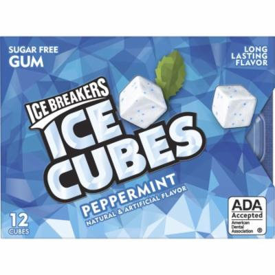 ICE BREAKERS ICE CUBES Sugar-Free Gum (Pack of 10)