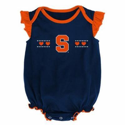 Syracuse University Creeper 2 Pack Homecoming Bodysuit Set