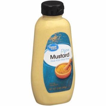 (4 Pack) Great Value Dijon Mustard, 12 oz