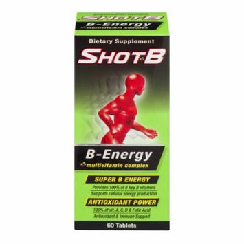 Shot B Energy Tablets60.0 ea(pack of 3)