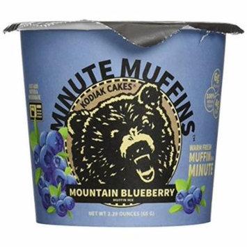 Kodiak Blueberry Minute Muffin (Pack of 6)