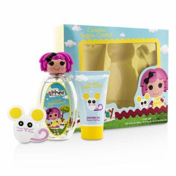 Crumbs Sugar Cookie Cute Coffret: Eau De Toilette Spray 100ml/3.4oz + Shower Gel 75ml/2.5oz + French