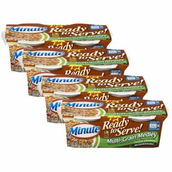 (4 Pack) Minute Ready To Serve! Multi-Grain Medley Rice 2 Count Cups