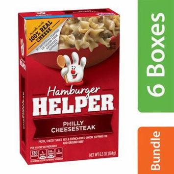 (6 Pack) Hamburger Helper Philly Cheesesteak Hamburger Helper 6.5 Oz.