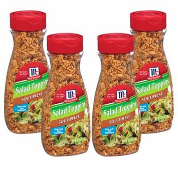 (4 Pack) McCormick Southwest Salad Toppings, 3.75 oz