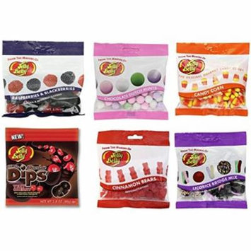 Jelly Jelly Belly Speciality Assorted Flavors - 6 Grab and Go Bags