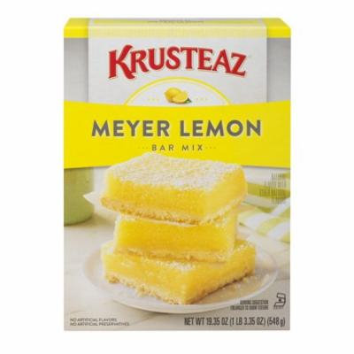 (8 Pack) Krusteaz Meyer Lemon Bars Supreme Mix, 19.35-Ounce Box