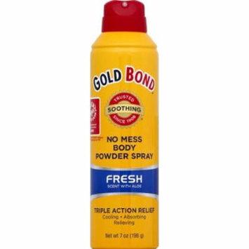 Gold Bond Fresh Triple Action Relief Powder Spray - 7 Oz (Pack of 2)
