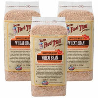 (12 Pack) Bobs Red Mill Wheat Bran, 8 oz