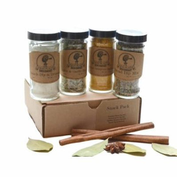 Snack Pack ~ Gift Set by High Plains Spice Company ~ Gourmet Meat and Veggie Spice Blends & Rubs For Beef, Chicken, Veggies & All Recipes ~ Spice Blends Handcrafted In Colorado, USA