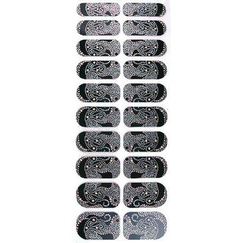 Adoro Glam up Instant Nail Wrap #001-2012/45