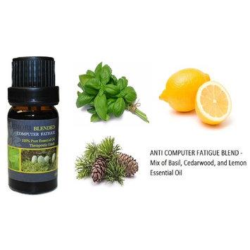 Anti Computer Fatigue - 100% Pure Therapeutic Grade Essential Oil 10ML (Blended)